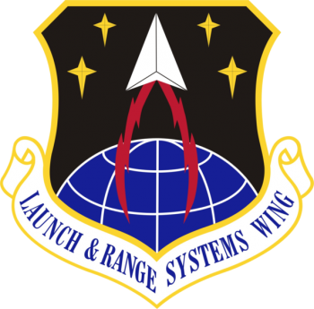 Coat of arms (crest) of the Launch and Range Systems Wing, US Air Force