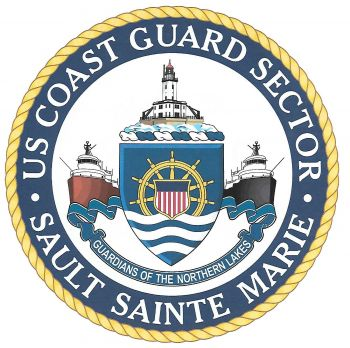 Coat of arms (crest) of the US Coast Guard Sector Sault Sainte Marie