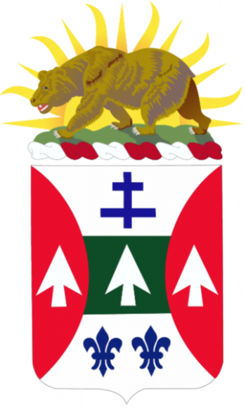 Coat of arms (crest) of the 132nd Engineer Battalion, California Army National Guard