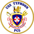 Coastal Patrol Ship USS Typhoon (PC-5).png