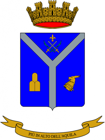 Coat of arms (crest) of the Mountain Artillery Group Sondrio, Italian Army