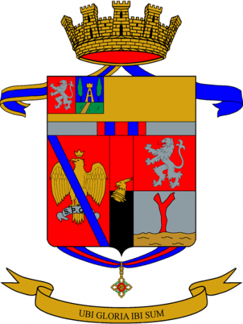 Coat of arms (crest) of the 67th Armoured Infantry Regiment Legnano, Italian Army