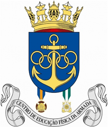 Coat of arms (crest) of the Center for Physical Education of the Navy, Portuguese Navy