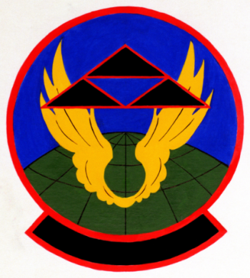 Coat of arms (crest) of the 509th Civil Engineer Squadron, US Air Force