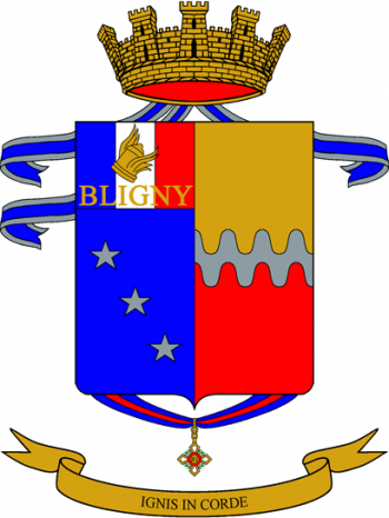 Coat of arms (crest) of the 75th Infantry Regiment Napoli, Italian Army