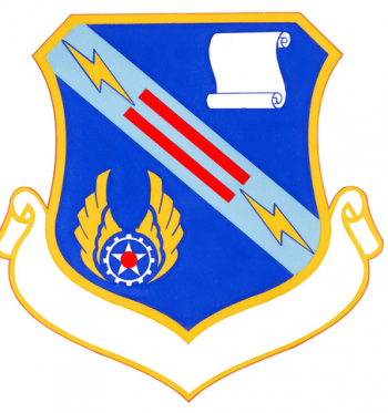 Coat of arms (crest) of the Air Force Logistics Command Noncommissioned Officer Academy, US Air Force