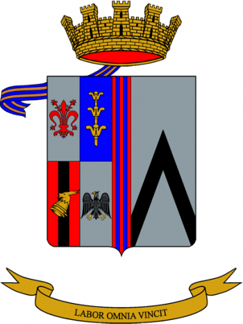 Coat of arms (crest) of the 104th Engineer Battalion, Italian Army