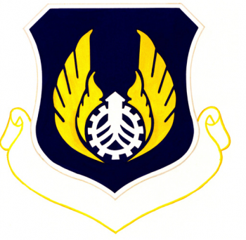 Coat of arms (crest) of the Air Force Acquisition Logistics Center, US Air Force