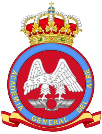 Coat of arms (crest) of the General Air Academy, Spanish Air Force