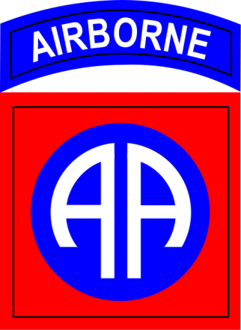 Arms of 82nd Airborne Division All American, US Army