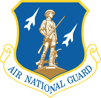 Coat of arms (crest) of the Air National Guard, US