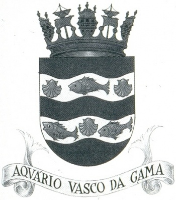 Coat of arms (crest) of the Vasco da Gama Aquarium, Portuguese Navy