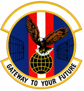 Coat of arms (crest) of the 3320th Correction and Retraining Squadron, US Air Force