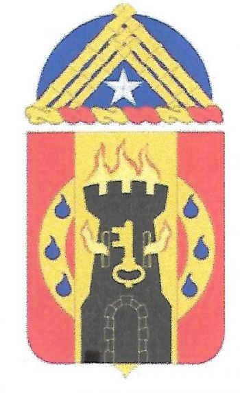 Arms of 563rd Support Battalion, US Army