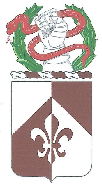 Coat of arms (crest) of the 261st Medical Battalion, US Army