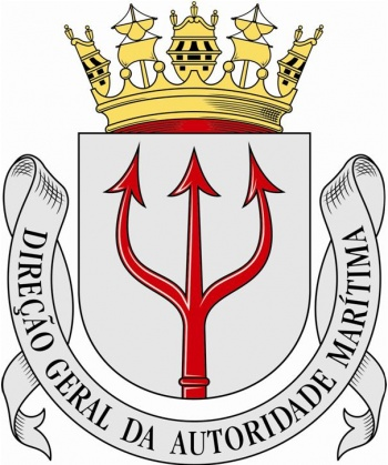 Coat of arms (crest) of the General Direction of the Maritime Authority, Portuguese Navy