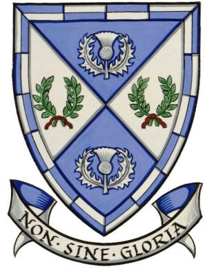 Arms of Scottish Rugby Union