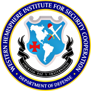 Coat of arms (crest) of the Western Hemisphere Institute for Security Cooperation, US