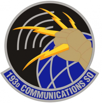 Coat of arms (crest) of the 193rd Communications Squadron, Pennsylvania Air National Guard