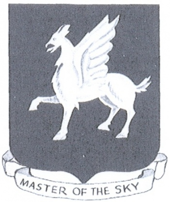 Coat of arms (crest) of the 50th Fighter Group, USAAF