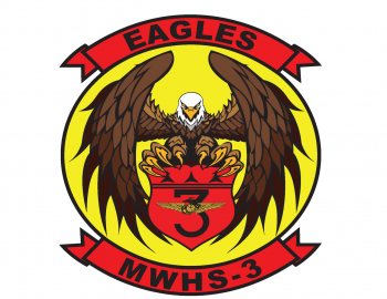 Coat of arms (crest) of the MWHS-3 Eagles, USMC