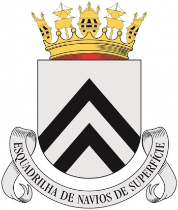 Coat of arms (crest) of the Surface Ships Squadron, Portuguese Navy