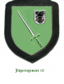 Jaeger Regiment 10, German Army.png