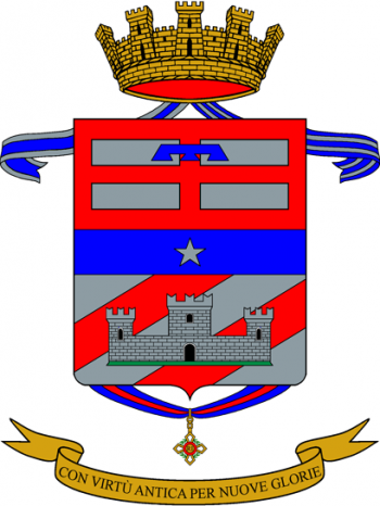 Coat of arms (crest) of the 114th Infantry Regiment Mantova, Italian Army