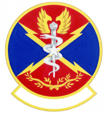 Coat of arms (crest) of the 11th USAF Contingency Hospital, US Air Force