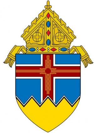 Arms (crest) of Diocese of Las Cruces