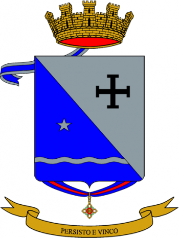 Coat of arms (crest) of the 244th Infantry Regiment Cosenza, Italian Army