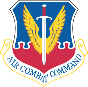 Coat of arms (crest) of the Air Combat Command, US Air Force