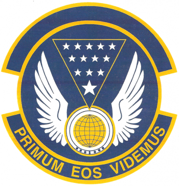 Coat of arms (crest) of the 13th Intelligence Squadron, US Air Force