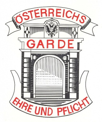 Arms of Guards, Austrian Army