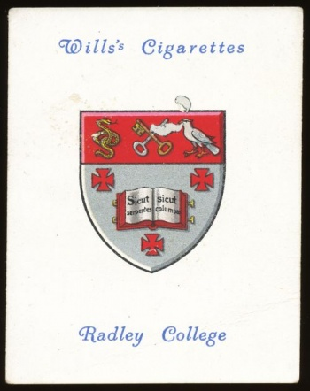 Arms of Radley College