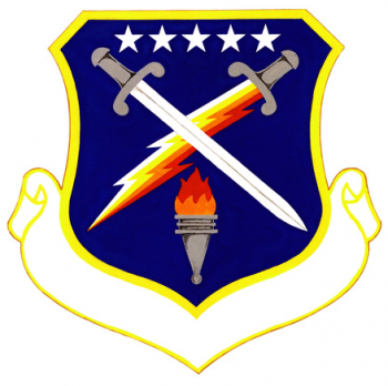 Coat of arms (crest) of the 3290th Student Group, US Air Force