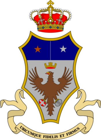 Coat of arms (crest) of the 43rd Infantry Regiment Forli, Italian Army