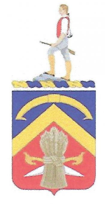 Arms of 494th Support Battalion, US Army