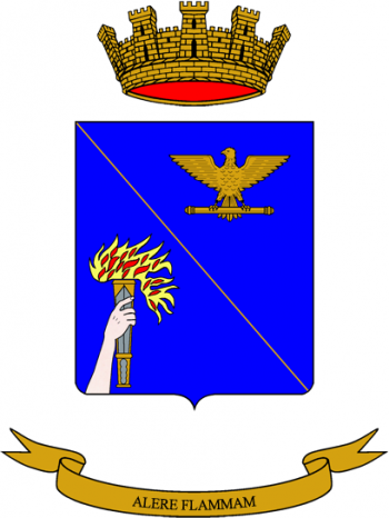 Coat of arms (crest) of the War School, Italian Army