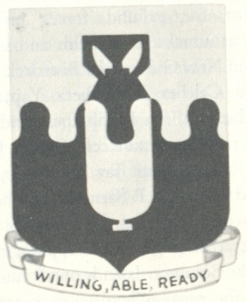 Coat of arms (crest) of the 43rd Bombardment Group, USAAF