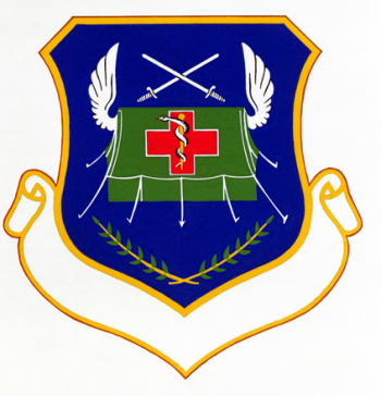 Coat of arms (crest) of the 657th Tactical Hospital, US Air Force