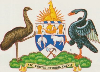 Arms of Bank of New South Wales