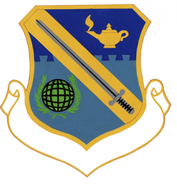 Coat of arms (crest) of the Center for Professional Development, US Air Force