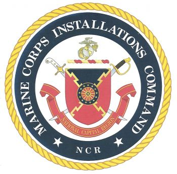 Coat of arms (crest) of the Marine Corps Installations Command - National Capital Region, USMC