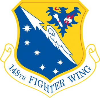 Coat of arms (crest) of the 148th Fighter Wing, Minnesota Air National Guard