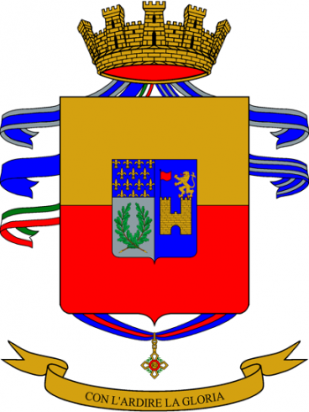 Coat of arms (crest) of the 76th Infantry Regiment Napoli, Italian Army