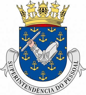 Arms of Superintendenture of Personnel, Portuguese Navy