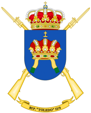 Protected Infantry Battalion Toledo II-3, Spanish Army.png