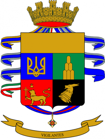 Coat of arms (crest) of the 2nd Alpini Regiment, Italian Army