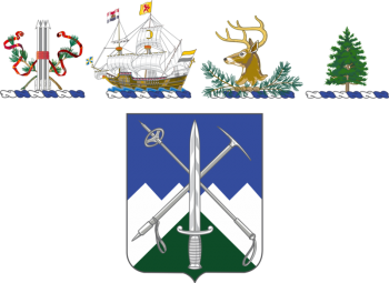 Arms of 172nd Infantry Regiment, New Hampshire, New York, Vermont and Maine Army National Guards